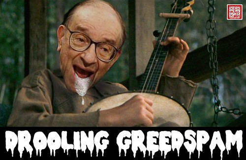 DROOLING GREEDSPAM by WilliamBanzai7/Colonel Flick