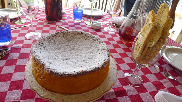 Mandarine almond cake by Jeanne