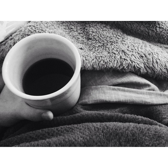Happy Sunday! #coffee #ceramicmug #fleece #blanket #winter