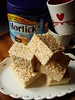 Malted Browned Butter Rice Krispies Treats by ComeUndone