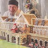 In the #ODT p. 3: Baker Steve Mee realises Gingerbread George's dream (until now, just a Railway Station) in #GigatownDunedin
