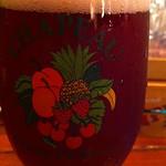 ベルギービール大好き!! シャポー・フランボワーズ Chapeau Framboise @ BisCafe TAP