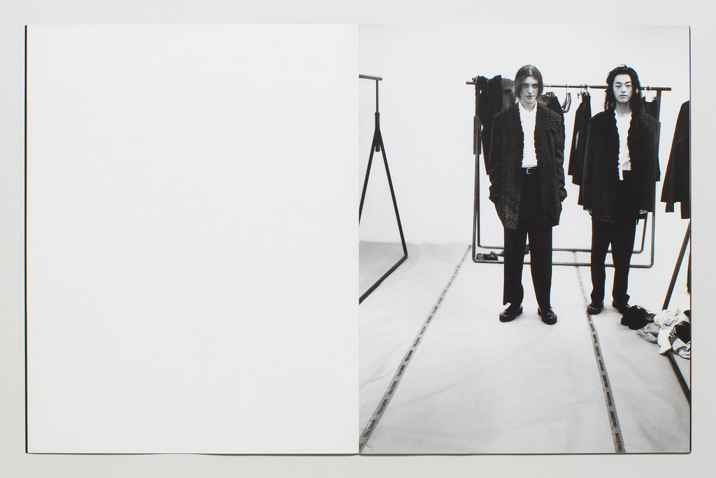 Yohji Yamamoto Pour Homme Lookbook F:W 2000 8