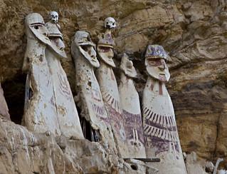 Sarcophagus de Karajia, Luya province, Peru