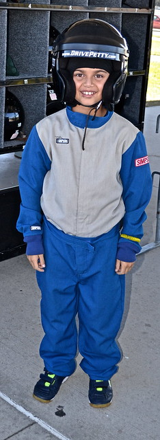 Drive Petty Experience - Walt Disney Speedway - JR. Ride Along - All Suited up