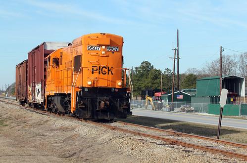 Pickens Railroad U18B #9507