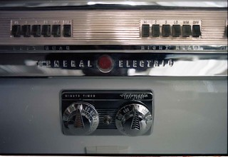 Mid-Century modern General Electric range II