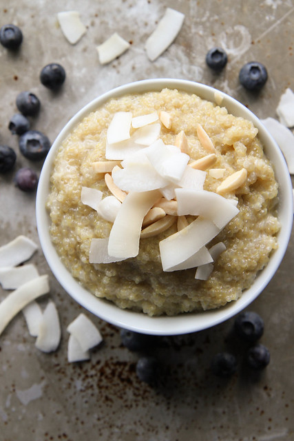 Coconut Quinoa Breakfast Bowl