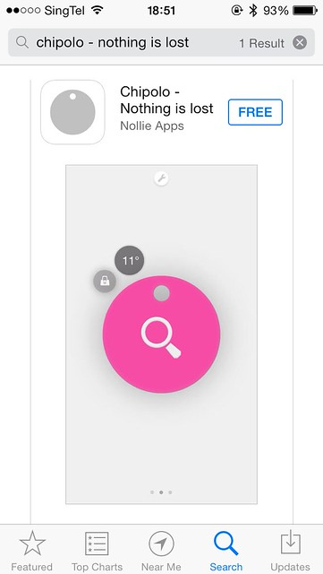 Chipolo iOS App - App Store