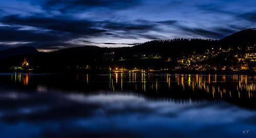 longexposure norway nighttime fjord møreogromsdal