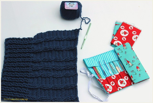 Crochet hook Roll up _ Received sew sew modern 4 _ made by Kirsten67 - Copy