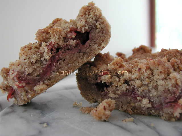 Pecan Strawberry Bars 3