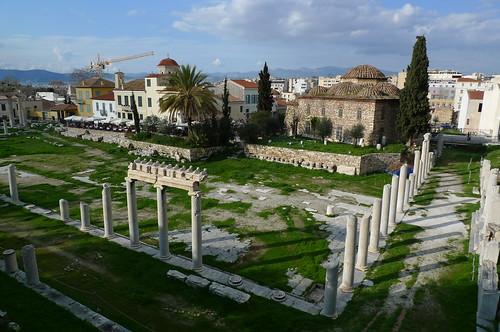 Roman Agora - Athens, Greece