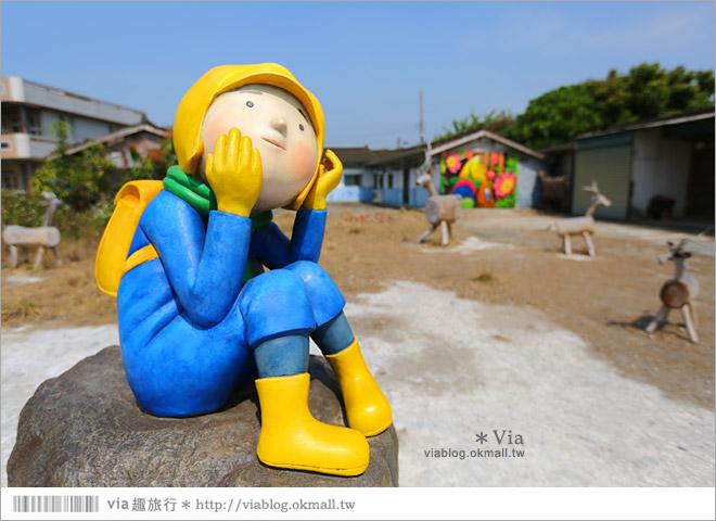 【台南後壁幾米】後壁土溝農村美術館‧農村就是美術館!幾米作品可愛現縱~36