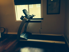 exercise machine, room, light, lighting, gym,