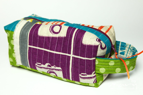 Boxy Pouch - Japanese scraps