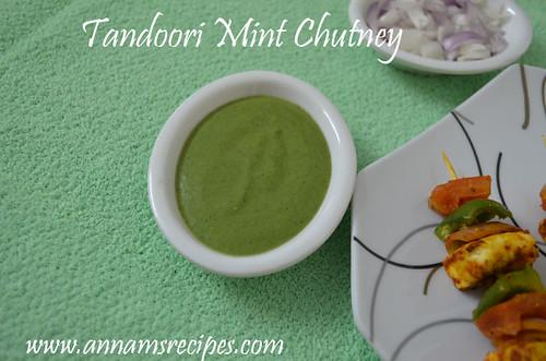 Tandoori Mint Chutney/Tandoori Chutney