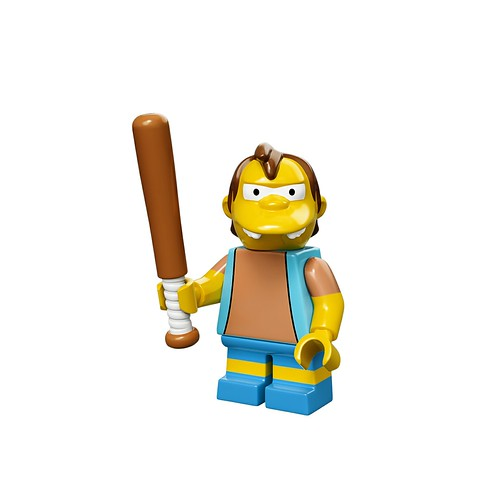 71005 The Simpsons Collectable Minifigures Nelson Muntz