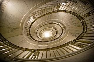 Spiral Stairs, US Supreme Court Building, Washington DC