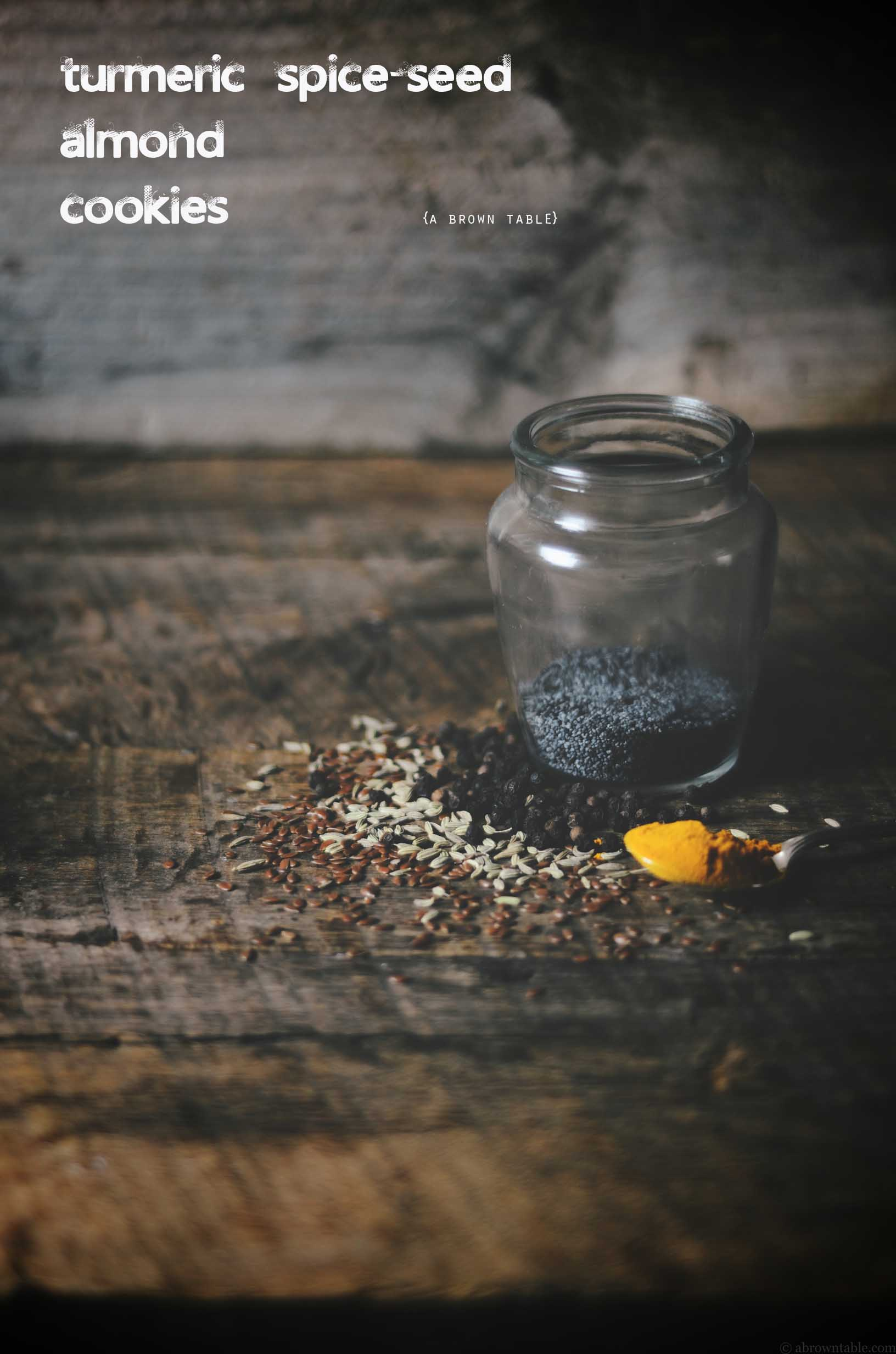 almond cookie spices