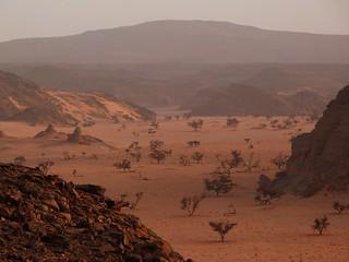 Karkur Talh en Jebel Uweinat (desierto Líbico, Egipto)