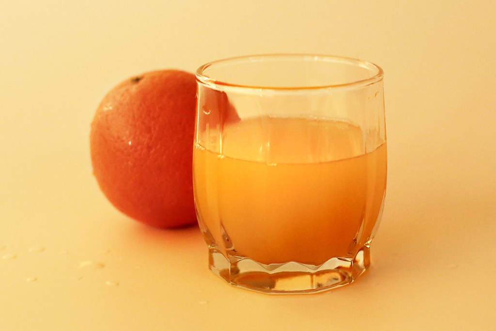 orange juice raw