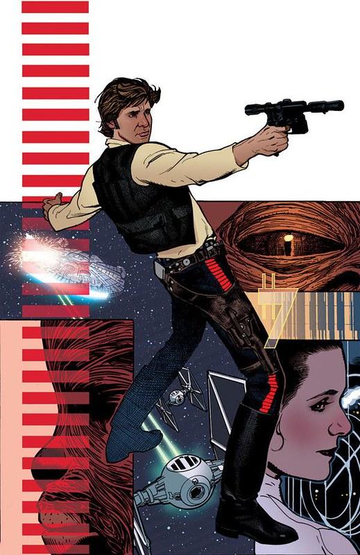 'Star Wars: Rebel Heist #1' Adam Hughes variant cover