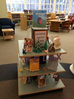 National Poetry Month - student display