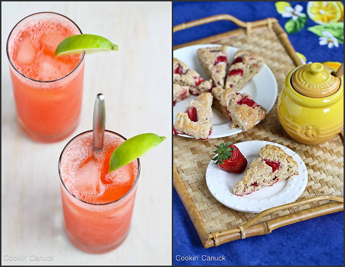 Strawberry Recipes | cookincanuck.com #strawberry