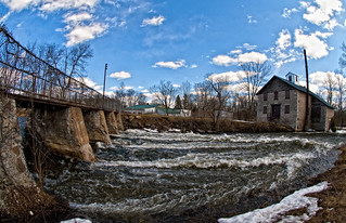Spring Runoff- Millhaven Creek, Babcock Mill