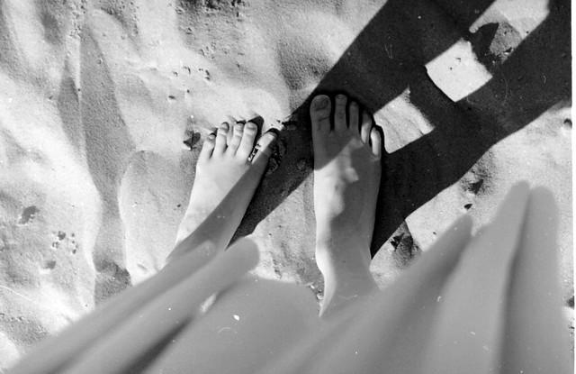 eerste stranddag
