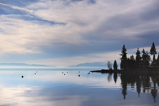 Morning Light on Lake Tahoe