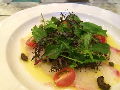 鮮魚のカルパッチョ@マザーアースカフェ