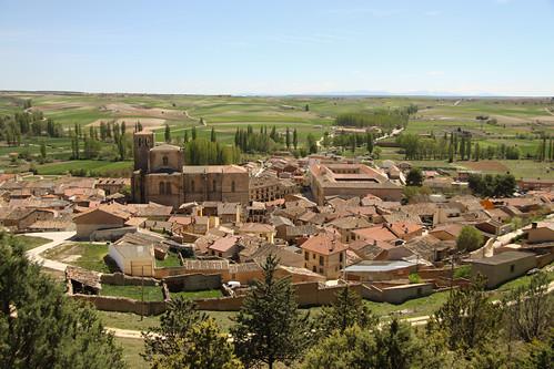 Peñaranda de Duero desde el Castillo