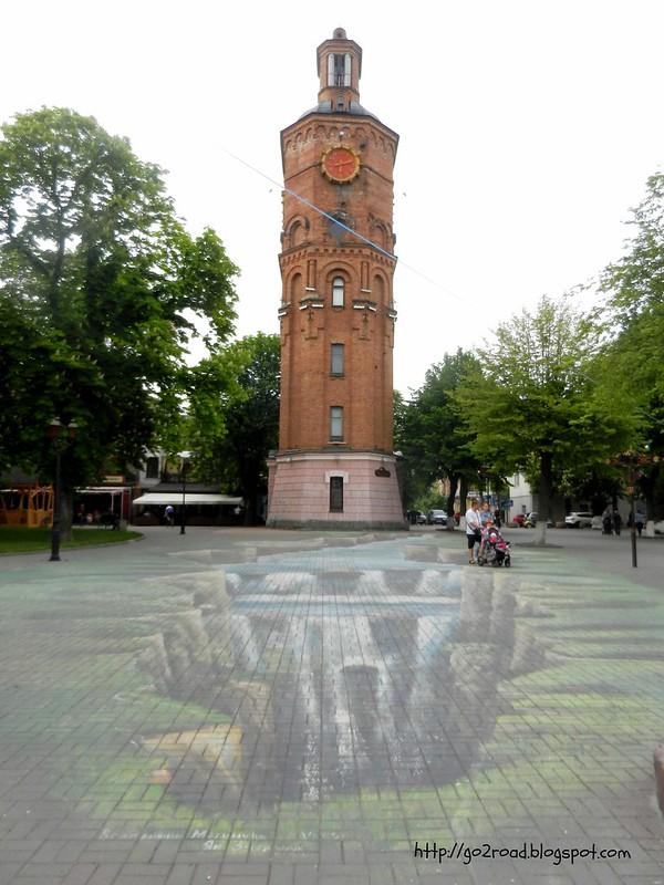 Башня Артынова в Виннице