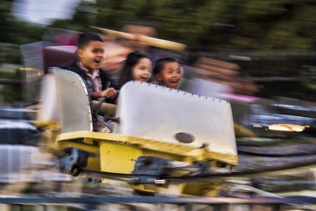 Downey High School Carnival Roller Coaster