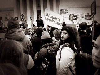 King vs Burwell - Rally in support of Obamacare - US Supreme Court | by LaDawna's pics