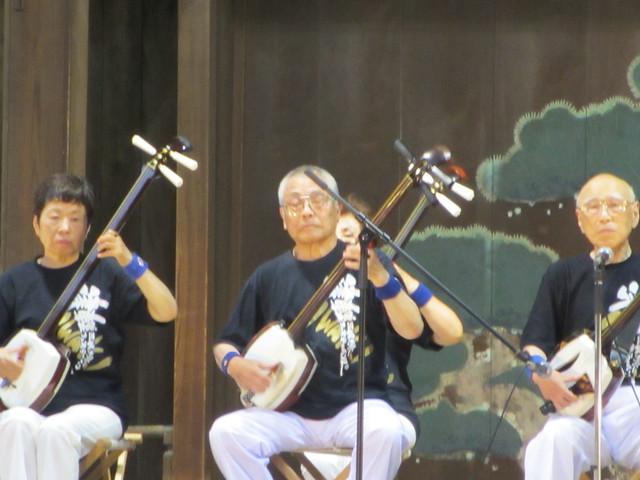 菊水会による津軽三味線の奉納演奏 by Yasue FUJIYAMA, on Flickr