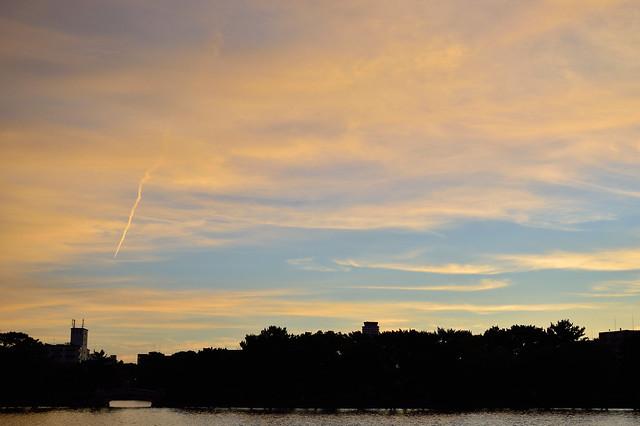 夏の夕空 Summer dusk