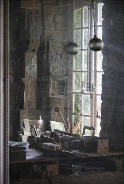 Peter's studio