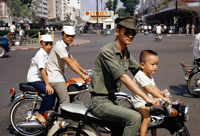 Saigon 1972 - Photo by Bruno Barbey 1972