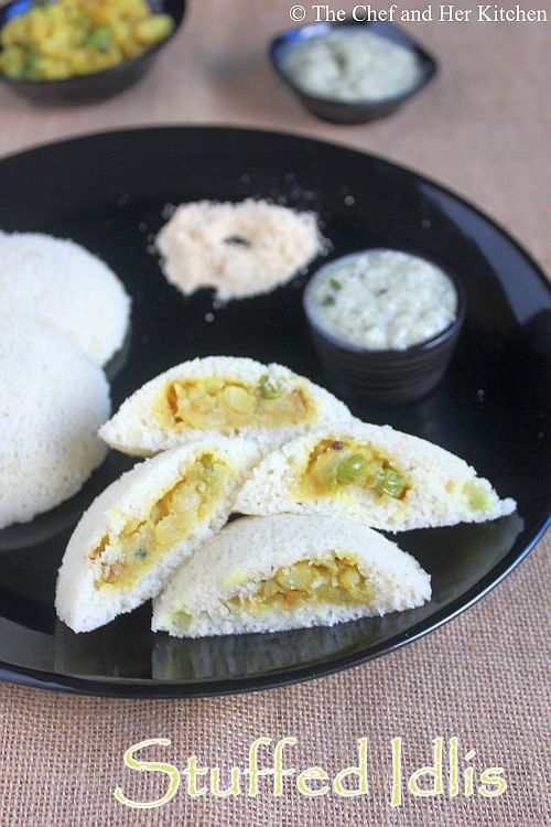 potato stuffed idli