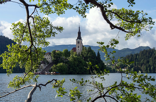 blue lake green church island see ast view kirche insel slovenia frame brunch marienkirche slowenien grün blau blick lakebled blejskiotok 2013 bledersee dorenawm nex7 rajmen