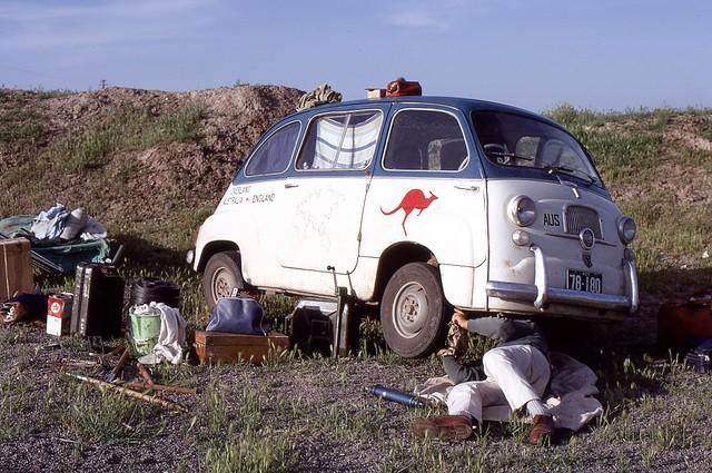 Car Service, Iran, 1969