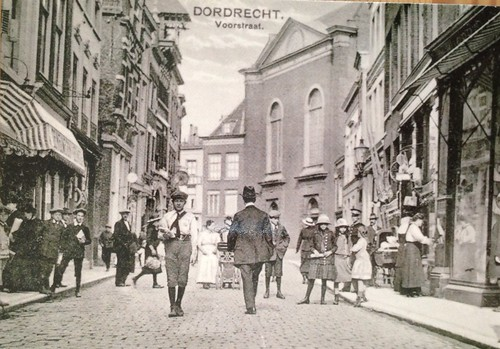 Dordrecht, some old postcards