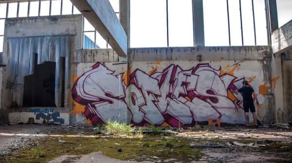 video de graffiti