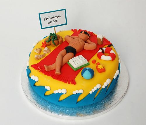 Handsome Hunk Cake Beautiful Birthday Cakes