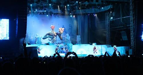 Iron Maiden live am Seerock-Festival