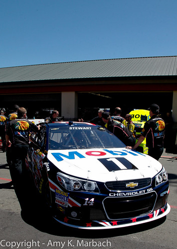 The Mobil 1 Chevy of Tony Stewart