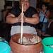 Bupu, una bebida de panela, cacao y flor de yechachi con atole abajo; Juchitán de Zaragoza, Región Istmo, Oaxaca, Mexico por Lon&Queta